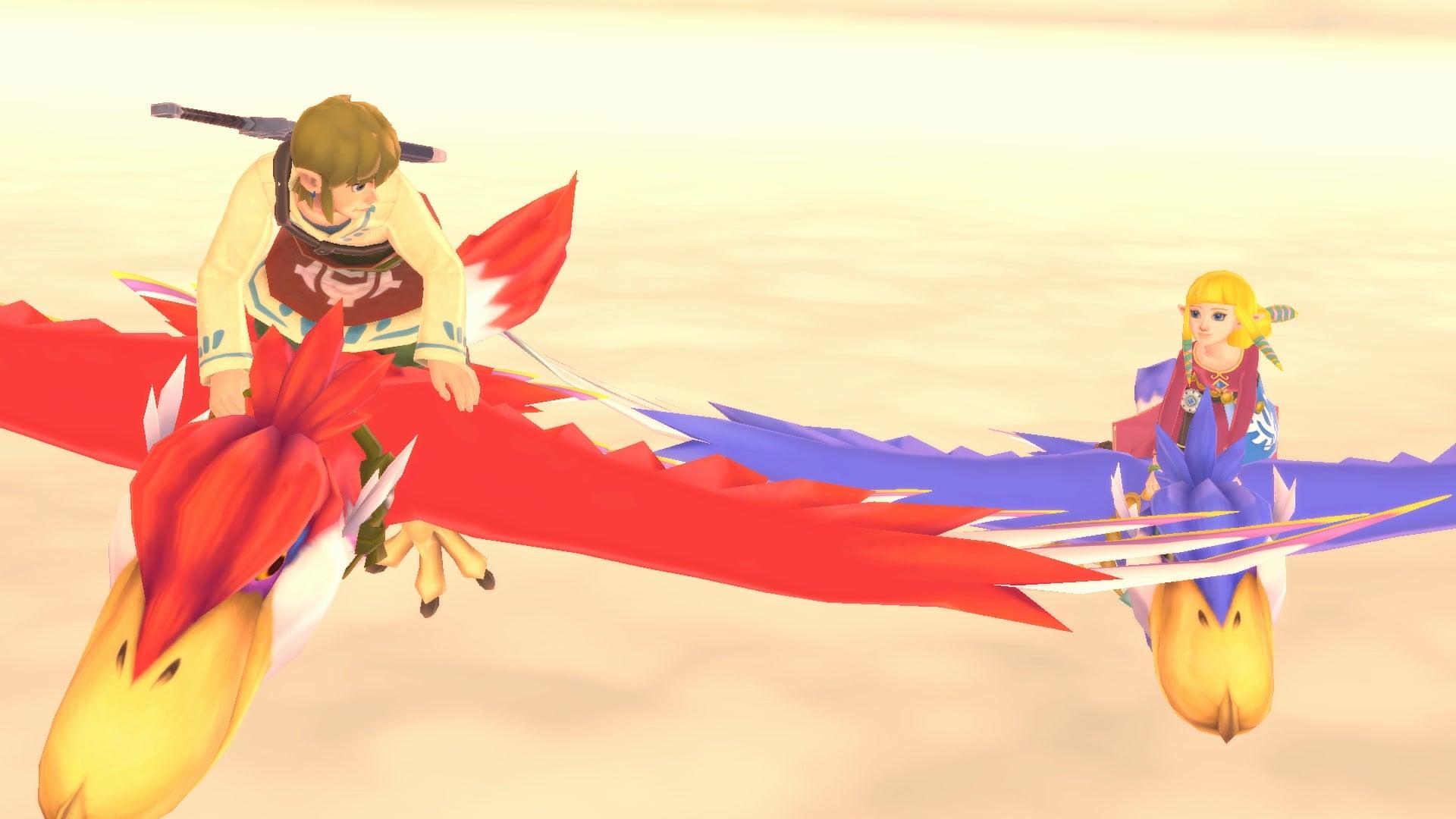 7月16日(五)發售Nintendo Switch《薩爾達傳說 禦天之劍 HD》,同時全新amiibo「薩爾達 & 洛夫特飛鳥」亦登場。    這是「禦天之劍」裡登場的薩爾達和夥伴藍色洛夫特飛鳥兩者一同站著的amiibo。  薩爾達是主角林克的青梅竹馬,是一位時常關心林克的少女。  洛夫特飛鳥是棲息在浮島「天空洛夫特」上的大鳥,  人們乘坐著洛夫特飛鳥在天空中移動,過著生活。      ※遊戲語言設定為日文時的畫面  只要使用amiibo的話……